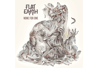 Flat Earth - None For One (GTF 180g White/Violet Marbled Vinyl)  - (Vinyl)