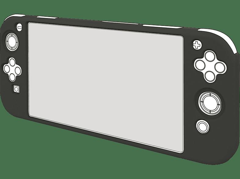 BIGBEN Nintendo Switch Lite Siliconen Hoes Zwart (SWITCH2GLOVE)