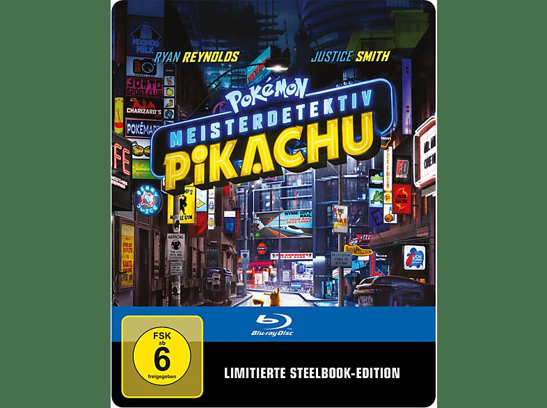 Pokémon Meisterdetektiv Pikachu (Steel Edition) [Blu-ray]