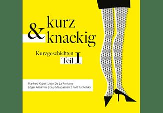 VARIOUS - Kurz Und Knackig-Kurzgeschichten Teil 1  - (CD)
