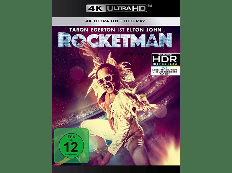 Rocketman [4K Ultra HD Blu-ray + Blu-ray]