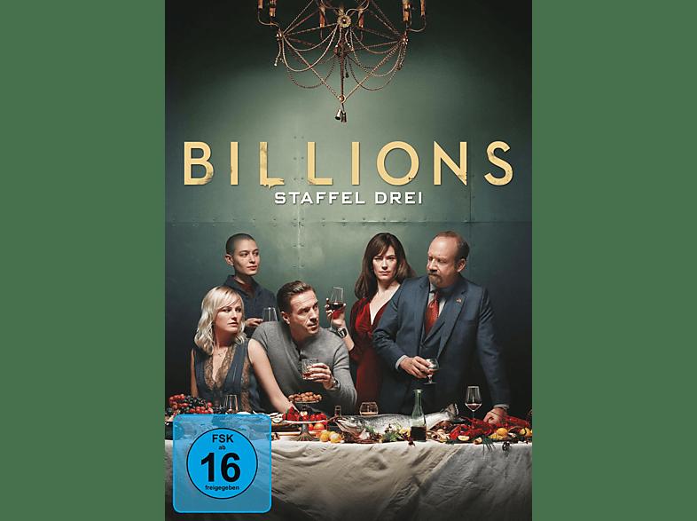 Billions - Staffel 3 [DVD]