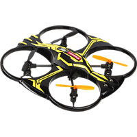 CARRERA RC 2,4GHz Quadrocopter X1 Quadrocopter, Schwarz/Gelb