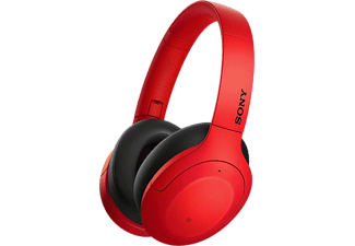 SONY WH-H910N - Cuffie Bluetooth (Over-ear, Rosso)