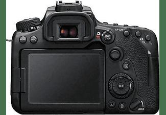 Cámara réflex - Canon EOS 90D, CMOS 32.5 MP, 4K, Wi-Fi, Bluetooth, Negro + EF-S 18-55mm f/3.5-5.6 IS STM
