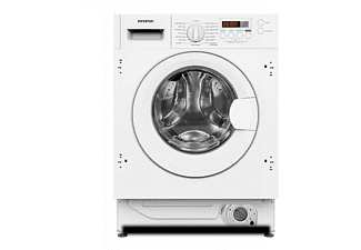 Lavadora integrable - Infiniton WM-B84,  8 kg, 1400 rpm, Pantalla LED, Blanca
