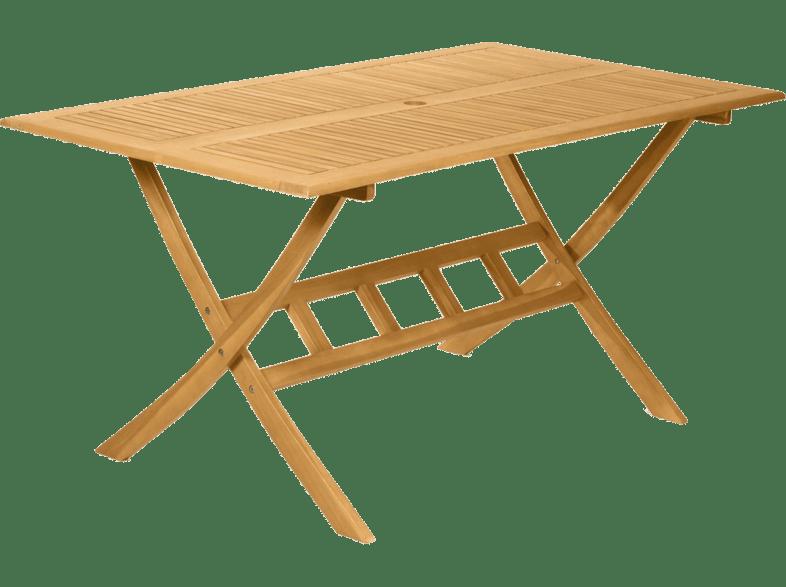 FIELDMANN FDZN 4017 T Kerti fa asztal, 150 x 86 cm Media