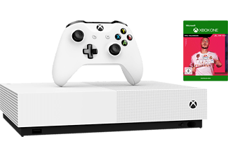 MICROSOFT Xbox One S 1TB - All Digital Edition + FIFA 20 (Nur Online)