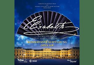 Pia Douwes, Mark Seibert, Viktor Gernot, Vereinigte Bühnen Wien, Semmel Concerts & Show Factory - Elisabeth-Konzertante Aufführung-Open Air  - (CD)
