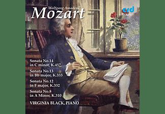 Virginia Black - Klaviersonaten  - (CD)