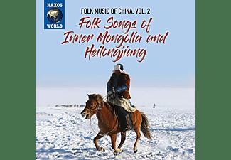 VARIOUS - Folk Songs of China,Vol.2  - (CD)