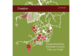 Fritz Von Pandolfis Consort/friedl - Creation  - (CD)