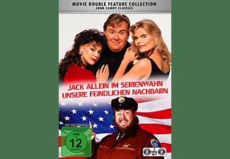 Unsere feindlichen Nachbarn / Jack allein im Serienwahn DVD