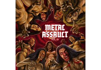 VARIOUS - Metal Assault Vol.1 - (CD)