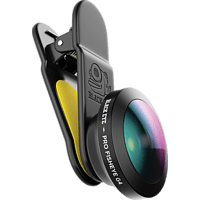 BLACK EYE Fisheye G4 Objektiv Mehrfarbig