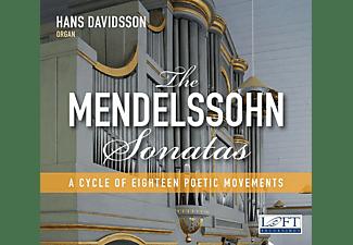 Hans Davidsson - The Mendelssohn Sonatas  - (CD)