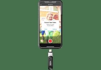 SANDISK IXPAND FLASH DRIVE GO USB-Stick (Silber/schwarz, 128 GB)
