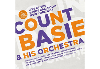 Basie Count & His Orchestra - Live At The Savoy Ballroom New York 1954  - (CD)