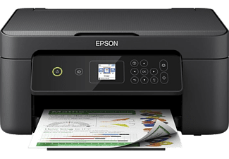 EPSON Multifunktionsdrucker Expression Home XP-3100, schwarz, Tinte (C11CG32403)