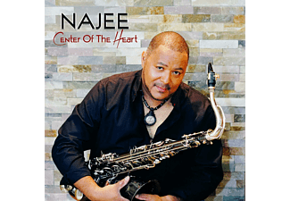 Najee - Center Of The Heart  - (CD)