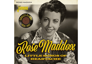 The Maddox Brothers & Rose - LITTLE SONGS OF HEARTACHE SINGLES AS And BS, 1959-19  - (CD)