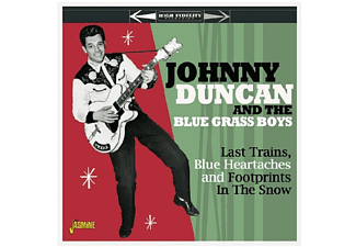 Johnny & The Blue Duncan - LAST TRAINS, BLUE HEARTACHES & FOOTPRINTS IN THE S - (CD)