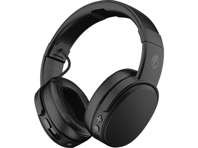SKULLCANDY Crusher Wireless, Over-ear Kopfhörer Bluetooth Schwarz