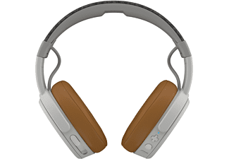 SKULLCANDY Crusher Wireless, Over-ear Kopfhörer Bluetooth Weiß/Grau