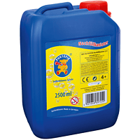PUSTEFIX Nachfüllkanister 2.5l Seifenblasen, Mehrfarbig