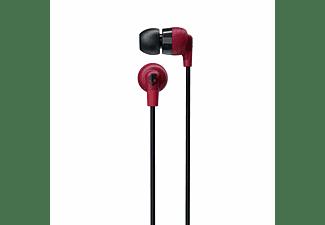 SKULLCANDY S2IQW-M685 INKD+ BT, In-ear Kopfhörer Bluetooth Rot/Schwarz