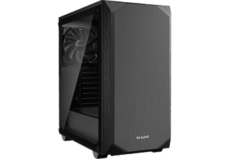 BE QUIET PC Gehäuse Pure Base 500 schwarz, Glasfenster (BGW34)
