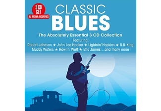 VARIOUS - CLASSIC BLUES - (CD)