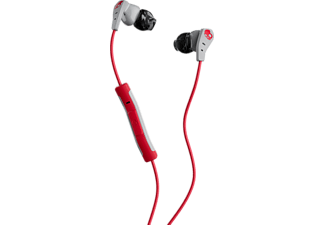 SKULLCANDY METHOD, In-ear Kopfhörer, Headsetfunktion, Grau/Rot