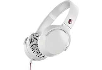 SKULLCANDY RIFF ON-EAR, On-ear Kopfhörer Weiss/Rot