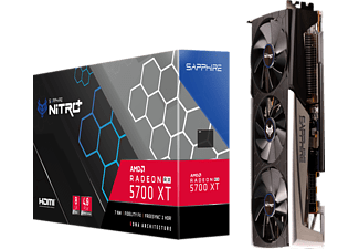 SAPPHIRE Radeon™ RX 5700 XT NITRO+ 8GB (11293-03-40G) (AMD, Grafikkarte)