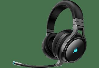 CORSAIR Virtuoso RGB Wireless, Over-ear Gaming Headset Carbon
