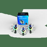 SAPPHIRE ARGB Lüfterset für Nitro+ RX 5700 XT Grafikkartenlüfter