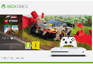 MICROSOFT Xbox One S 1TB - Forza Horizon 4 LEGO® Speed Champions Bundle