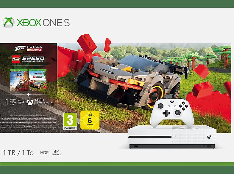 MICROSOFT Xbox One S 1TB - Forza Horizon 4 LEGO® Speed Champions Bundle