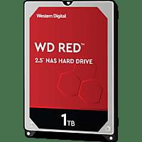 WD Red NAS-Festplatte 1 TB, 2,5 Zoll, 1 TB HDD, 2.5 Zoll, intern