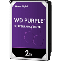 WD Purple™ interne Festplatte 2 TB, BULK, 2 TB HDD, 3.5 Zoll, intern