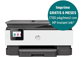 Impresora multifunción - HP OfficeJet Pro 8022, doble cara, color, 29/25 ppm, 1200 ppp, WiFi, USB, 256 MB