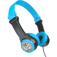 JLAB JBuddies Folding, On-ear Kopfhörer  Blau