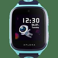 XPLORA X4 Kinder-Smartwatch Silikon, 145-210 mm, Türkis