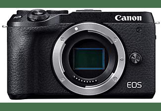 Cámara EVIL - Canon EOS M6 Mark II (Cuerpo), CMOS 32.5 MP, Vídeo 4K, DIGIC 8, HDMI, Bluetooth, Wi-Fi, Negro