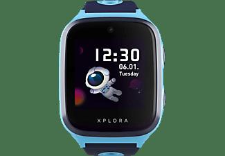 XPLORA X4 Kinder-Smartwatch Silikon, 145-210 mm, Blau