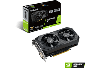 ASUS GeForce TUF-GTX1650 Gaming 4GB (90YV0CV5-M0NA00 ) (NVIDIA, Grafikkarte)