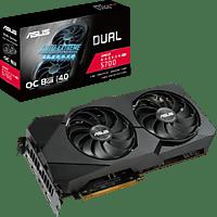 ASUS Radeon DUAL-RX5700-O8G-EVO (90YV0DC1-M0NA00) (AMD, Grafikkarte)