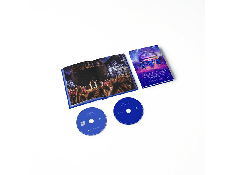 Take That - ODYSSEY - Greatest Hits Live (Limited DVD + CD) [DVD + CD]