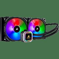 CORSAIR H115i RGB PLATINUM Wasserkühlung, Schwarz/Silber